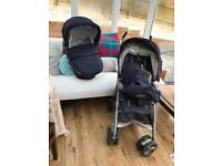 Inglesina adjustable foldable baby push chair