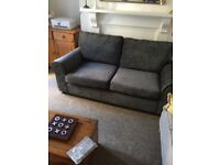 New grey sofa