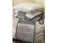 JOBLOT x100 BULK - LUXURY QUALITY HOTEL STYLE PILLOWS - WHOLESALE RRP £36