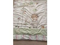 Olive and Henry cot bedding set