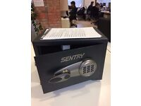UNUSED SENTRY SAFE (T2-330) WITH KEYS - SECURITY