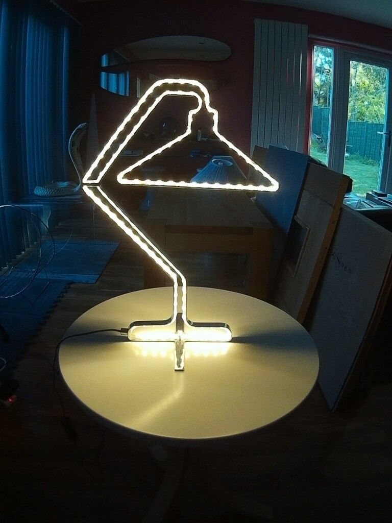 Dwell Table Lamp. Chrome frame - LED lights. | in Cumbernauld ...