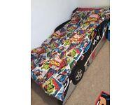 Racing car standard single bed