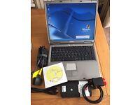 Auto Diagnostic Laptop Car Van Truck + New Bluetooth VCI + 2014.2 Software