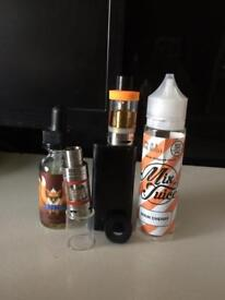 Vape with accessories