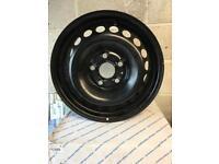Volkswagen T5 genuine steel wheels