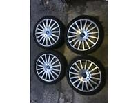 """Set of 4 Ford 18"""" ST alloys for sale"""