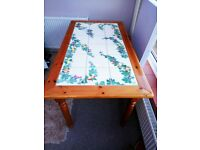 Tiled Dining room table