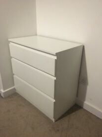 White drawers £20