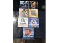 JAMES PATTERSON audio cd books 7No