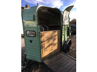 Trailer catering bar old Horsebox