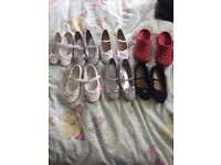 Job lot of girls clothes and shoes
