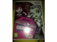 Monster High Ghoul Spirit Wii Game