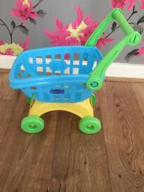 Peppa pig shopping trolley