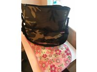 Skip hop camouflage nappy change bag