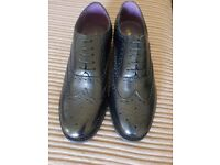 Brand New Boxed Mens Size 10 Shoes Prestige Brogue Black