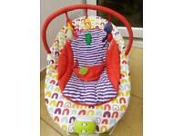 Mamas & Papas baby bouncer chair