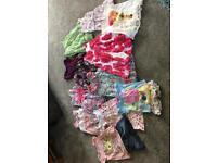 Girls summer clothes bundle aged 2-3