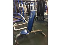 Adjustable incline bench