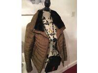 Zara coat vgc size medium
