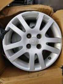 Honda alloys 15 inch