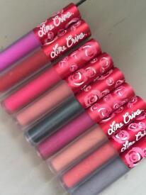 Lipstick x 9 Lime Crime Matt liquid