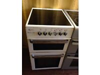 Flavel white electric cooker