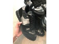 Valentino trainers black camo brand new sneakers new season Valentino's in supreme condition