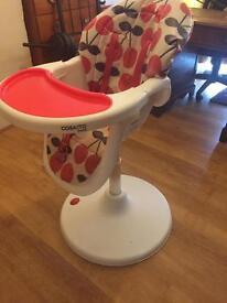 Cosatto 360 3sixti three sixty child baby highchair high chair