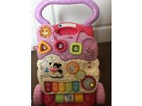 Baby walker + ballpit+toys