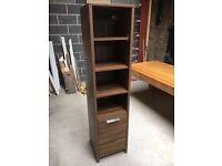 Wood Bathroom Tall Boy Cabinet From Victoria Plum