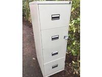 4 drawer filing sturdy metal cabinet