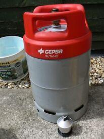 Spanish Gas Bottle with regulator