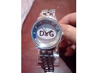 GORGIOUS DOLCE GABANNA WATCH SILVER