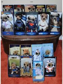 Complete set of 18 meerkats only £75