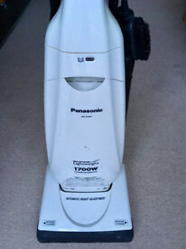 Used 1700W upright Panasonic vacuum cleaner