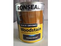 Ronseal Quick Drying Wood Stain 750ml