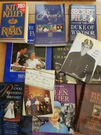 Large Collection of Royal Family Books.. Pristine Condition