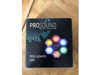 Disco pod lights - used once