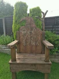 Wizard chair.
