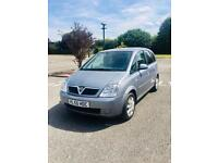 BIG BARGAIN 🚖🚖 VAUXHALL MERIVA 2005//1.6 PETROL// WITH BRAND NEW MOT//5 Doors