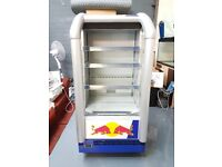 RED BULL DRINKS/SANDWICH DISPLAY - TOO CLEAR-