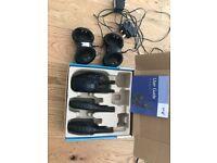 BT Freeway pro twin walkie talkies X 4