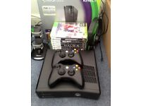 xbox 360 250 gb box 2 controllers 12 games