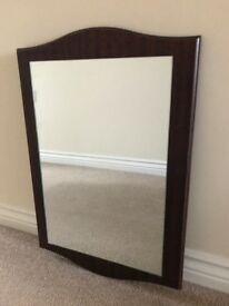 Selection of wooden mirrors for sale