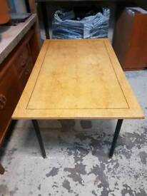 Bespoke handmade vintage dining table