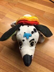 Lamaze dog baby toy