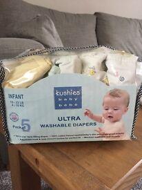 Kushies Ultra Washable Diapers