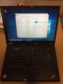 Laptop Lenovo ThinkPad T61 Windows 7 Enterprise 64bit SSD HDD