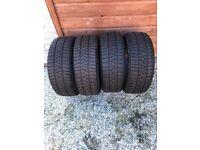 215/55/17 Pirelli Sottozero Winter Tyres